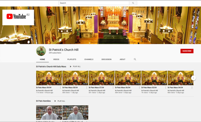 0420 Parishes on YouTube 1a