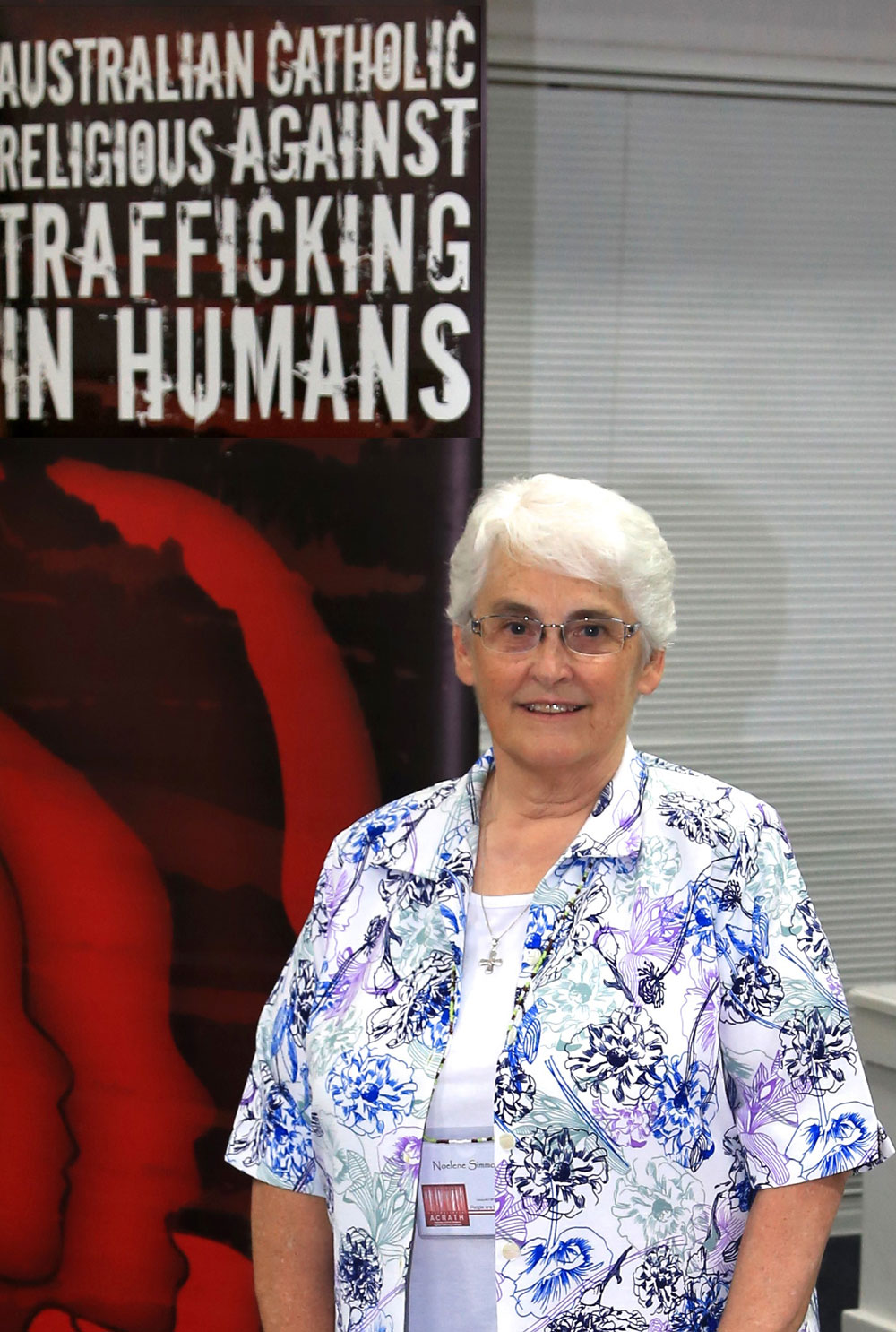 0219 JPICBLOG Noelene Simmons at launch of Catholic Social Justice Paper on Human Trafficking crp