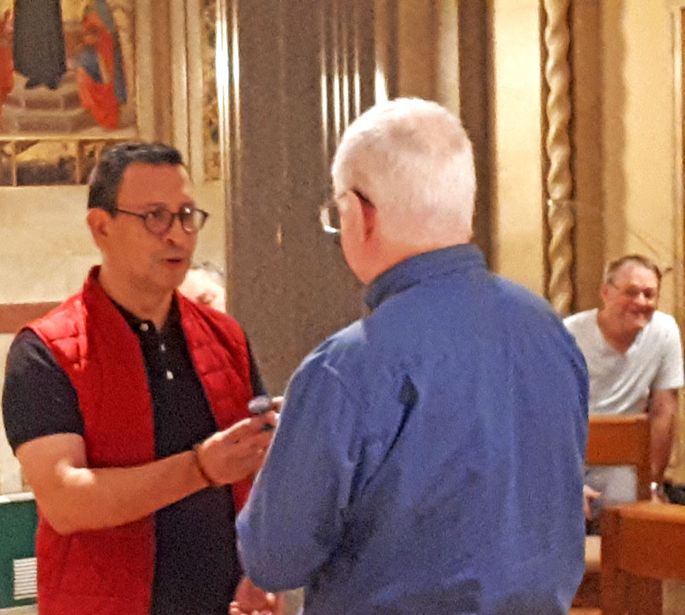 1018 ARC Tony to Juan Carlos Seal of SM for Procurator to Holy See
